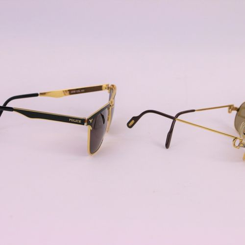 Pair of Cartier sunglasses and a pair of Police sunglasses  (As it stands)    LE…