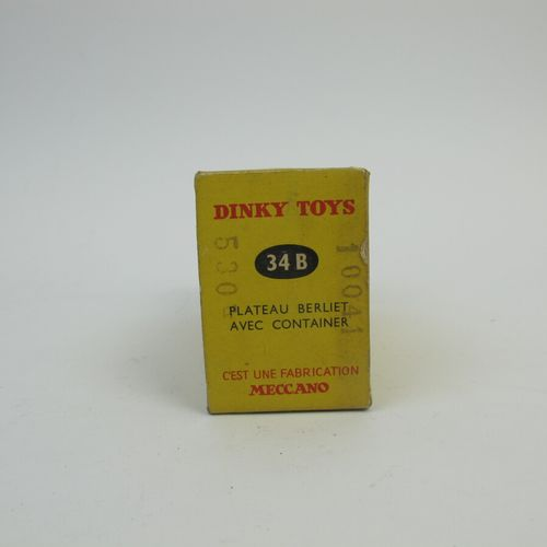 Dinky Toys France lot of 3 miniatures at 1/43rd of which : Berliet Quarry Tipper…