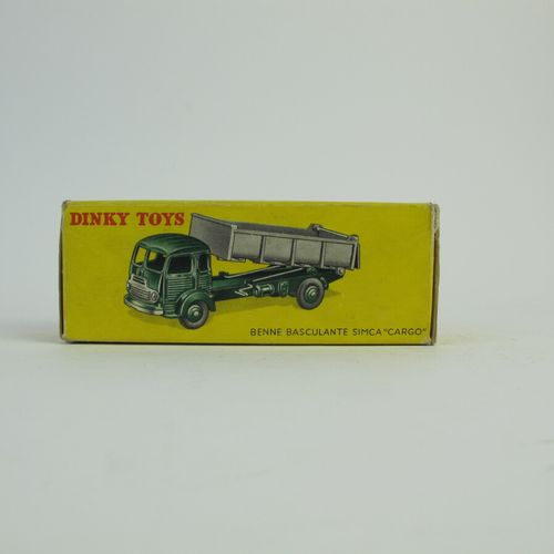 Dinky Toys France lot of 2 miniatures at 1/43rd of which : Simca cargo dumper re…