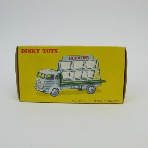 Dinky toys France SIMCA Cargo mirror cargo reference 33C good condition box good…