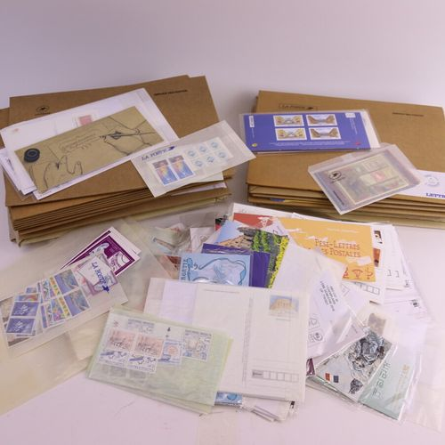FRANCE, ANDORRA , St PIERRE and MIQUELON : Several dozens of envelopes of a subs…