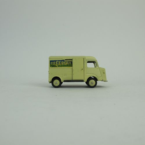 Dinky Toys France lot of 2 miniatures at 1/43rd of which : Sheet metal van Peuge…