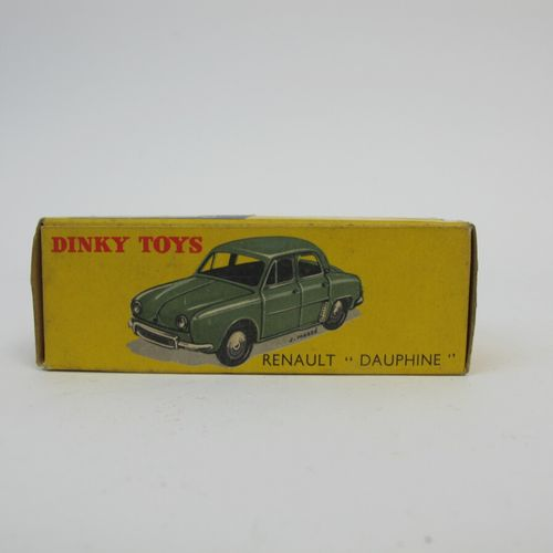 Dinky Toys France miniature 1/ 43rd Renault dauphine without window grey / light…