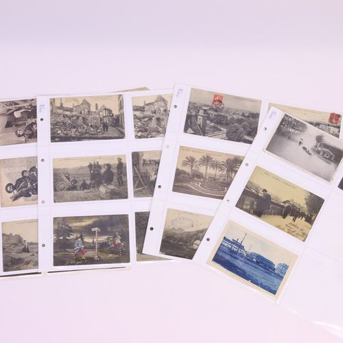 Lot of about forty postcards: small trades, regional: Nice, Chantilly and Paris …