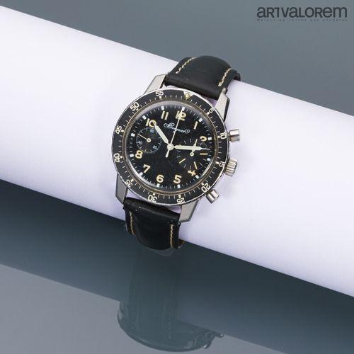 BREGUET Type XX, vers 1965 70  Montre chronographe de pilote français à deux com…