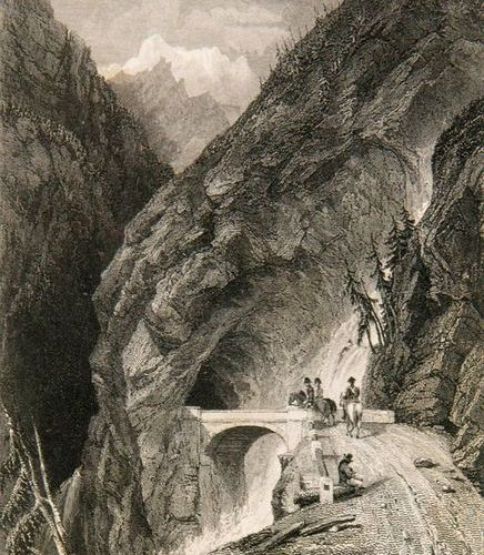 S., C. W. Stanfield und J. D. Hardin, Prout Picturesque views of Italy, Switzerl…