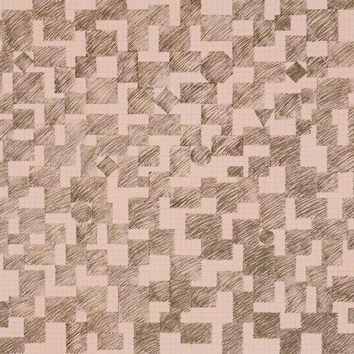 Paolini, Giulio Totem (III). 1973. Serigraphie auf Karton. 34 x 51 cm (48 x 63,5…