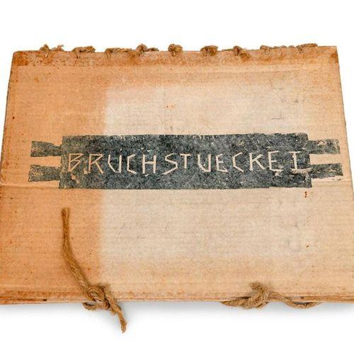 Hanske, Andreas and Volker Baumgart    Fragments I. With 12 original hand drawn …