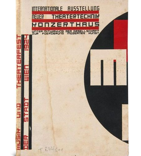 Bauhaus Typography    Kiesler, Friedrich    International exhibition of new thea…