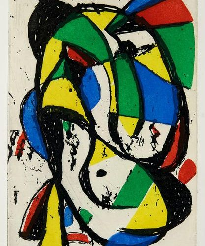 Miró, Joan    Aragon, Louis    Les adieux. With 3 etchings (2 of them signed by …