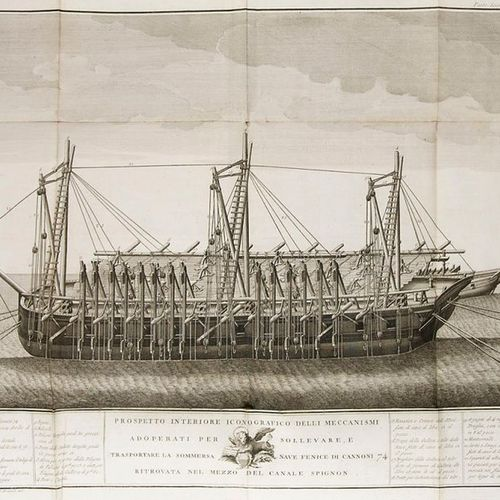 Shipping    Zusto, Giovanni    Descrizione istorica dell'estrazione della pubbli…