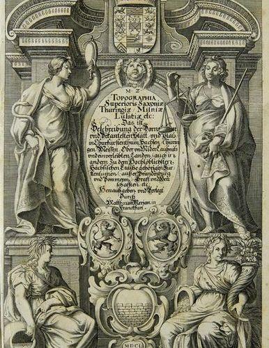 Saxony, Brandenburg, Pomerania    Merian, Matthäus and Martin Zeiller    Topogra…