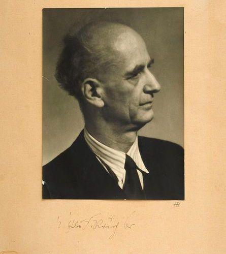 Music    Furtwängler, Wilhelm    Furtwängler: Collection of 12 objects (signed).…