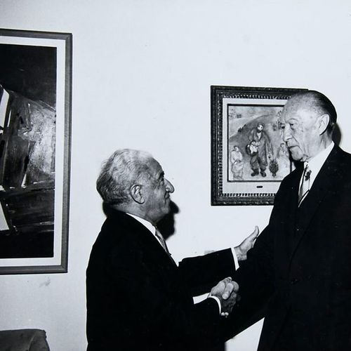 Israel        Photo album of the first ambassador of the Federal Republic of Ger…