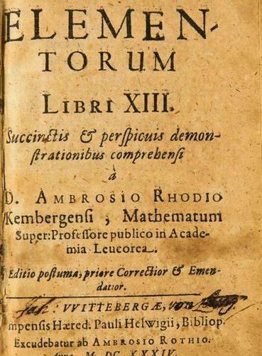 Mathematics        Euclidis Elementorum Libri XIII Succinctis & perspicuis demon…