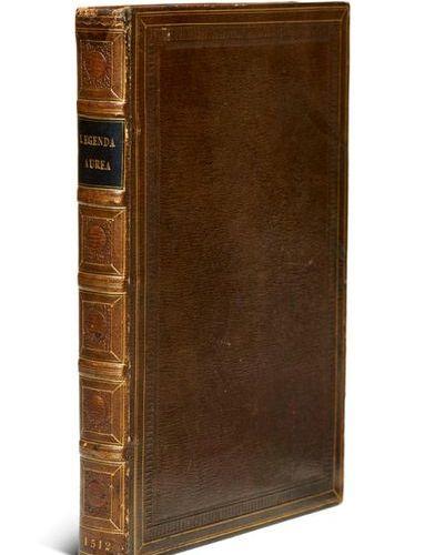 Voragine, James de    Legenda hec aurea. With large shot cut printer's mark and …