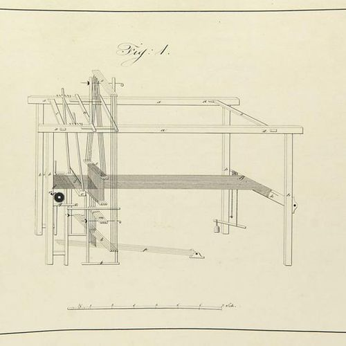 Weaving mill    Biehler, Tobias    Practical instructions for each drawing of th…