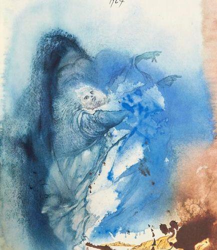 Dalí, Salvador    Biblia Sacra. Vulgatae editionais. With 105 lithographs after …