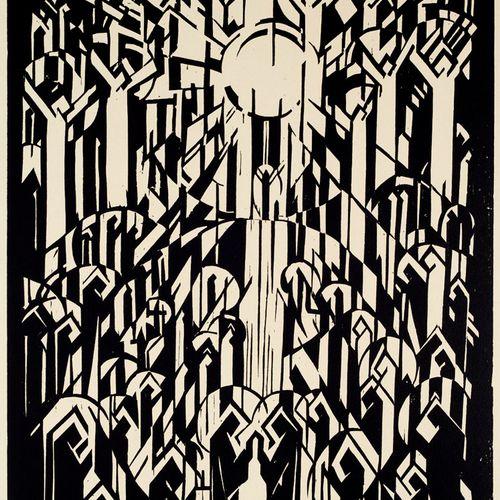 Thalmann, Max Der Dom. Zehn Holzschnitte. Geleitwort von G.F. Hartlaub. Geleitwo…