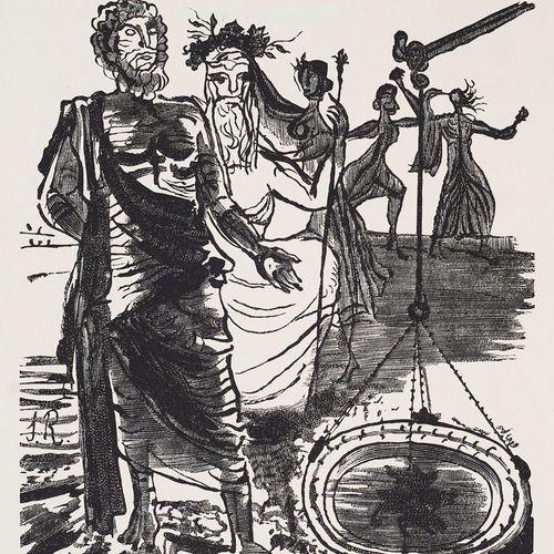 Aristophanes Die Frösche. Eine Komödie. Übertragen von J. G. Droysen. Mit 23 Hol…