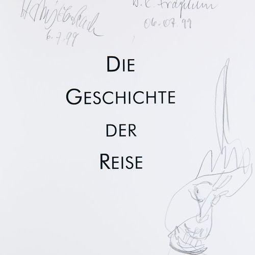 Sammlung von 3 Künstlerbüchern. (Berlin), Edition Galerie auf Zeit, 1998 2003. M…