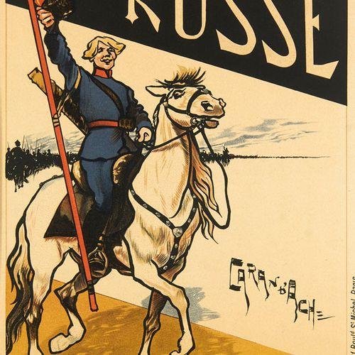 4 Plakate der Maîtres de l'Affiche. Paris, Chaix, 1895 1900. Je Lithographie auf…