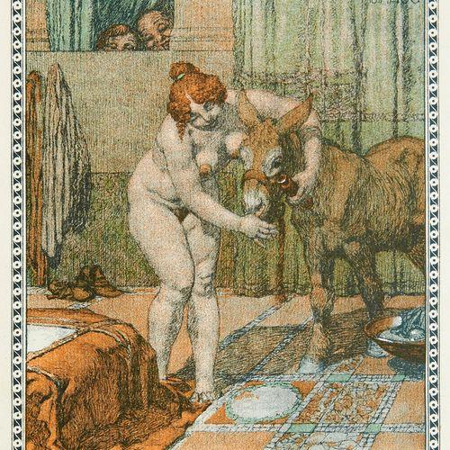 Löwinger, Wilhelm Der goldene Esel. Ein Roman aus dem Altertum nach den antiken …