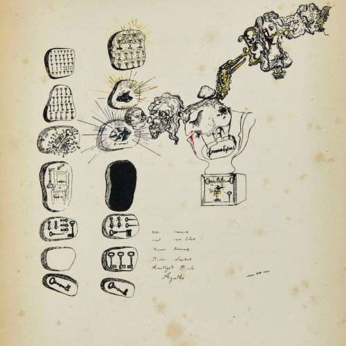 Breton, André Second Manifeste du Surréalisme. Frontispice de Salvador Dali (Clu…