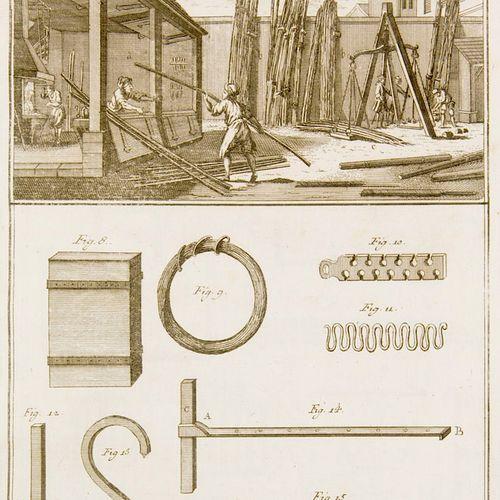 Diderot, Denis u. J. L. D'Alembert Recueil de planches sur les sciences, les art…