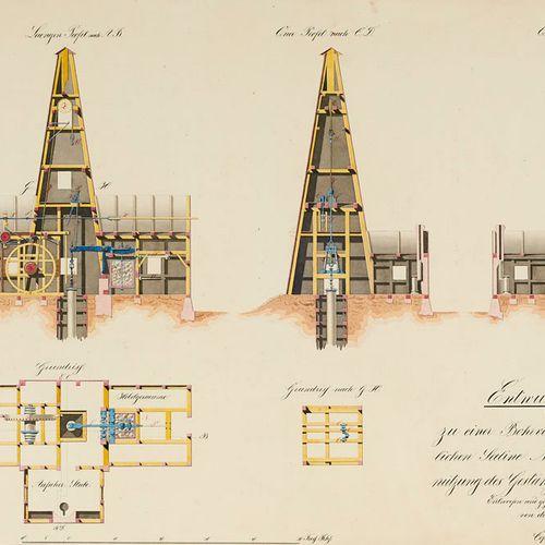 Zobel, Ludwig Entwurf zu einer Rohrvorrichtung der Königlichen Saline Neusalzwer…