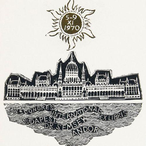 Sammlung von ca. 800 tls. Sign. Exlibris. Polen, Estland, Skandinavien, einige G…