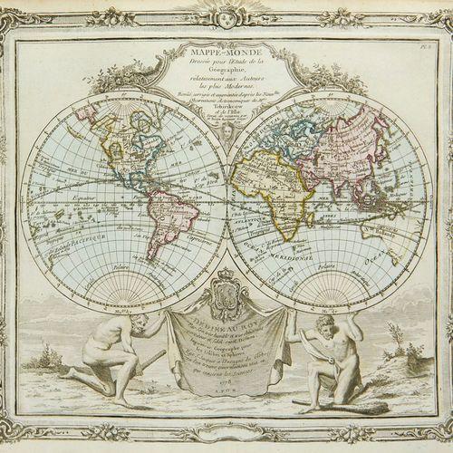 Brion de la Tour, Louis Atlas General, Civil, Ecclesiastique et Militaire Method…