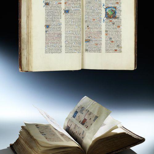 """Bedeutendes und prachtvolles """"Breviarium Franciscanum"""" des 15. Jahrhunderts Buch…"""