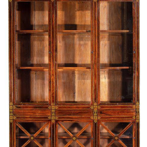Bibliothek im Empire Stil 230 x 155 x 31 cm. Frankreich.In Holz gearbeitet, furn…