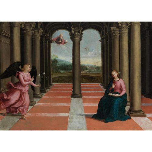 Maler des 16. Jahrhunderts, nach Raffael da Urbino (1483 – 1520) DIE VERKÜNDIGUN…