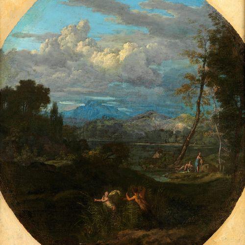 """Gaspard Dughet, genannt """"Gaspard Poussin"""", 1615 Rom – 1675 ebenda, zugeschrieben…"""