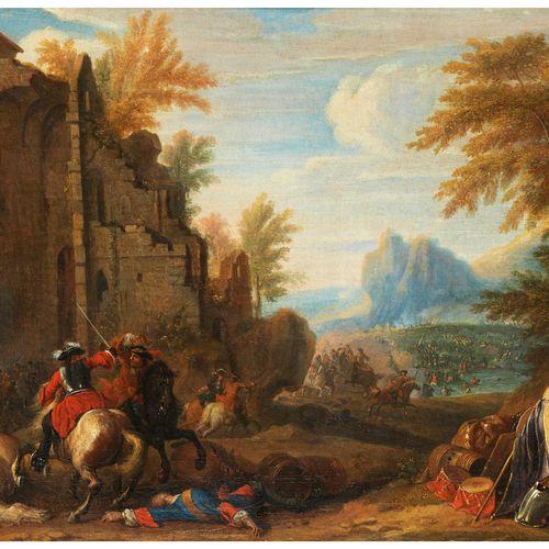 Adam Frans van der Meulen, 1632 Brüssel – 1690 Paris, zugeschrieben Der Künstler…