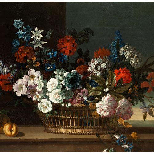 Pieter Casteels III, 1684 Antwerpen – 1749 Richmond PRACHTVOLLES BLUMENSTILLLEBE…