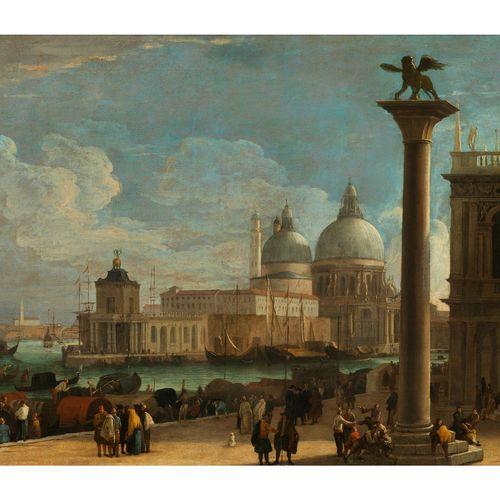 Luca Carlevaris,1663/65 Udine – 1729/31 Venedig VENEDIG, BLICK AUF DEN MOLO UND …