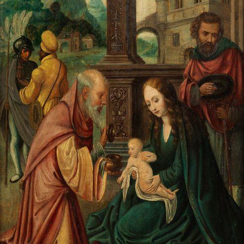 Marcellus Coffermans, 1520/30 Antwerpen – um 1578 ebenda, zugeschrieben ANBETUNG…