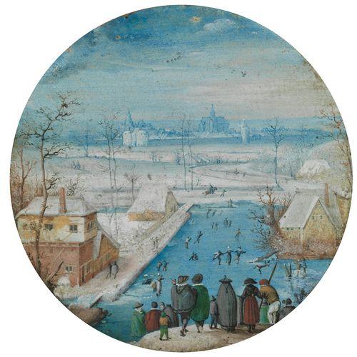 Hans Bol, 1534 Mechelen – 1593 Amsterdam MINIATURTONDO Durchmesser: 6,3 cm. Vers…