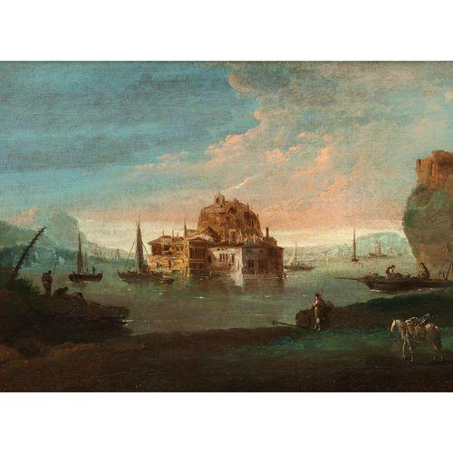 Giuseppe Bernardino Bison,1762 Palmanova – 1844 Mailand, zugeschrieben FLUSSLAND…