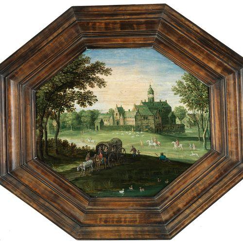 Maerten Ryckaert, 1587 Antwerpen – 1631, zugeschrieben LANDSCHAFT MIT EINEM SCHL…