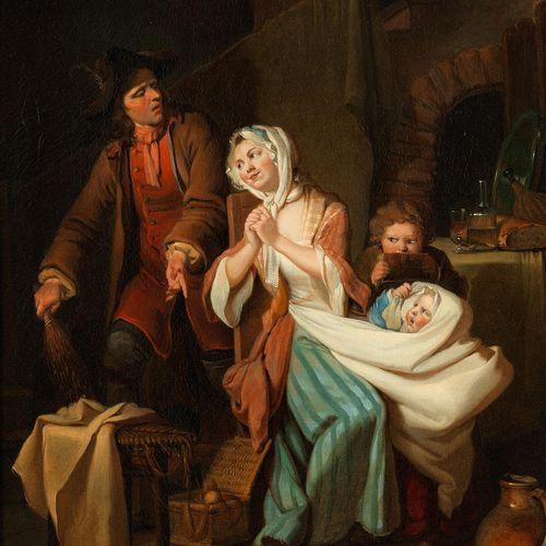 Johann Eleazar Schenau,1737 Großschönau – 1806 Dresden DAS ZERBROCHENE GESCHIRR …