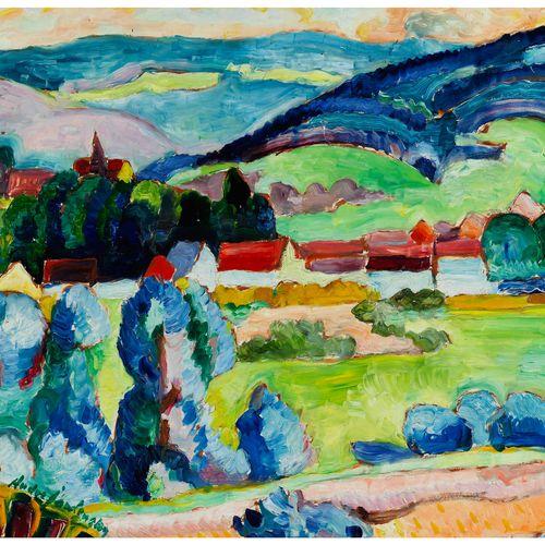 Andreas Jawlensky, 1902 Anspoki – 1984 Barga, Italien Andreas Jawlensky war der …