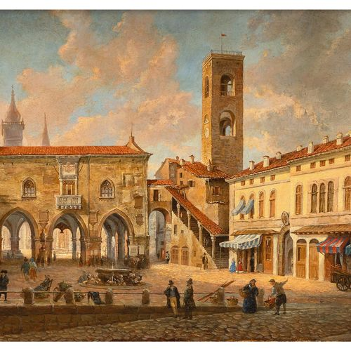 Constantino Rosa,1803 Bergamo – 1878 ebenda Der Künstler studierte an der Akadem…