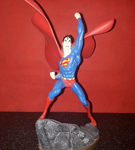 MOLTO RARO SUPERMAN 25 CM SPECIALE SERIE NUMERO 1 EDIZIONE LIMITATA 721/2002