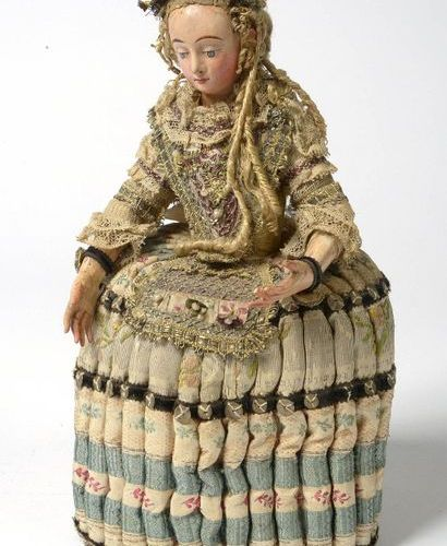 """""""Doll Mannequin"""" or """"Pandora fashion doll"""" with head and hands made of polychrom…"""