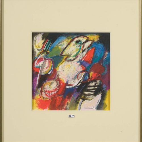 "COBBAERT Jan (1909 1995) ""Witte Engel"" watercolor on paper. Signed lower right C…"