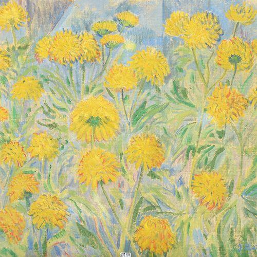 BUTLER James P. (1893 1976) 布面油画《金光灿烂的诚实》。右下角有J.Butler的签名,背面有(19)17和日期。美国学校。尺寸:+…
